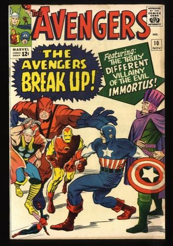 Avengers #10 FN 6.0 Marvel Comics Thor Captain America