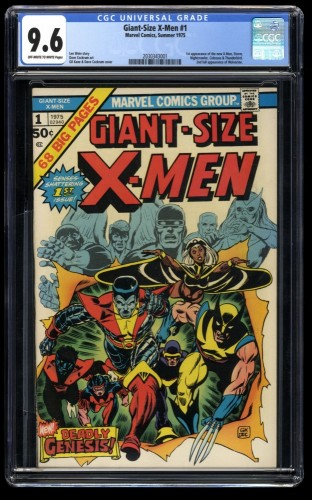 Giant-Size X-Men #1 CGC NM+ 9.6 Off White to White