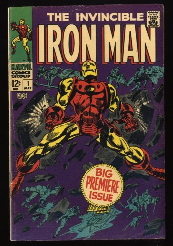Iron Man #1 VG/FN 5.0