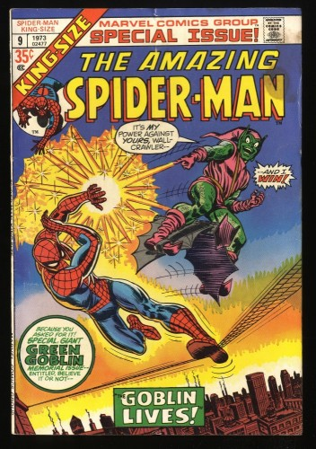 Amazing Spider-Man Annual #9 VG/FN 5.0