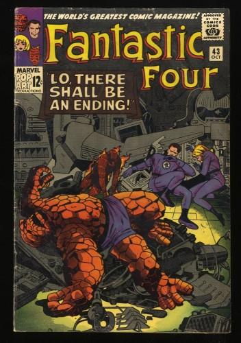 Fantastic Four #43 VG- 3.5 Marvel Comics