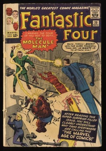 Fantastic Four #20 GD 2.0 Marvel Comics