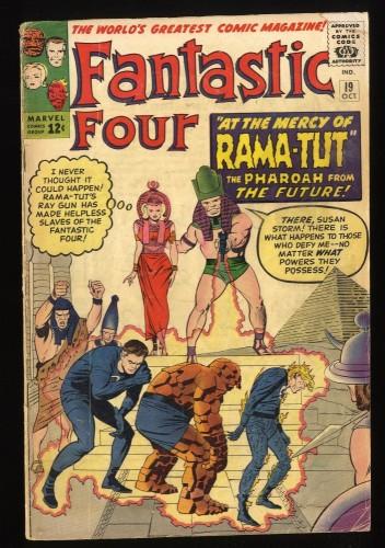 Fantastic Four #19 GD/VG 3.0 Marvel Comics 1st Rama-Tut!
