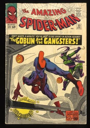 Amazing Spider-Man #23 GD 2.0 Marvel Comics Spiderman Green Goblin!