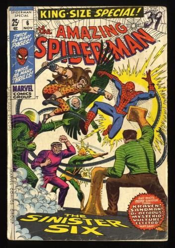 Amazing Spider-Man Annual #6 FA/GD 1.5