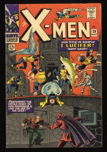 X-Men #20 FN 6.0 Marvel Comics