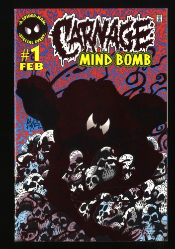 Carnage Mind Bomb #1 NM- 9.2