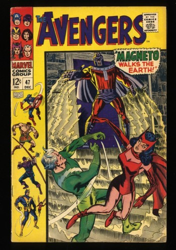 Avengers #47 FN+ 6.5 1st Dane Whitman Black Knight!