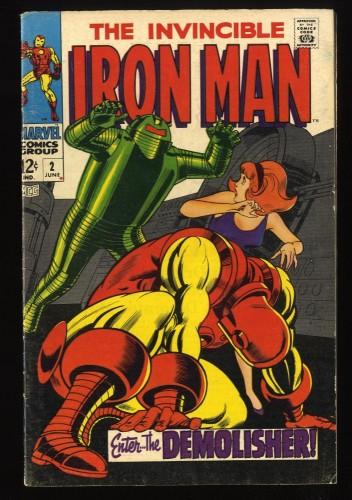 Iron Man #2 VG/FN 5.0 Marvel Comics