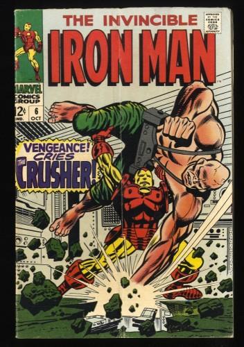 Iron Man #6 VG 4.0 Marvel Comics