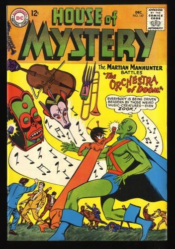 House Of Mystery #147 VF 8.0 Martian Manhunter! DC Comics
