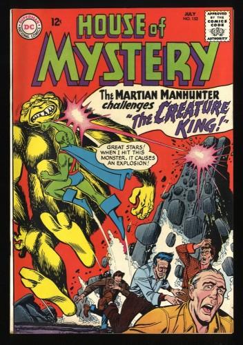 House Of Mystery #152 VF- 7.5 Martian Manhunter! DC Comics