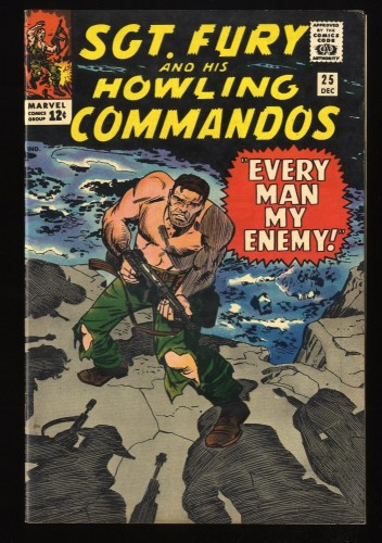 Sgt. Fury and His Howling Commandos #25 FN+ 6.5 Marvel Comics