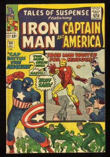 Tales Of Suspense #60 FN 6.0 Iron Man