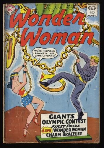 Wonder Woman #106 GD- 1.8