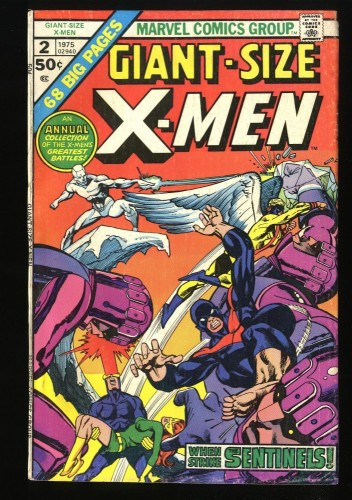Giant-Size X-Men #2 VG 4.0