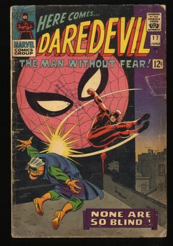 Daredevil #17 GD- 1.8 Spider-Man! Marvel Comics
