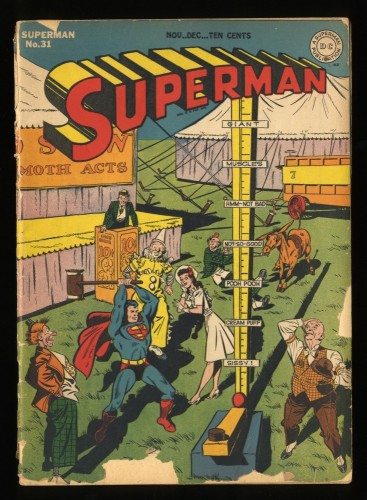 Superman #31 FA/GD 1.5