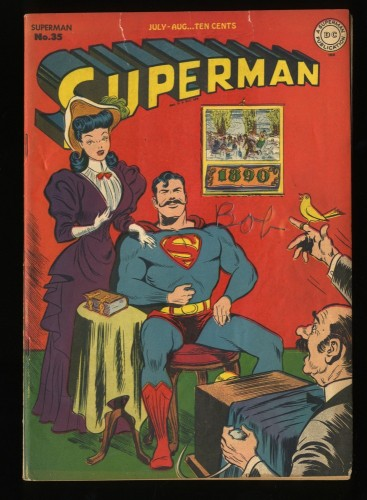 Superman #35 VG- 3.5