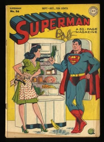 Superman #36 VG- 3.5