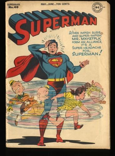 Superman #40 VG 4.0