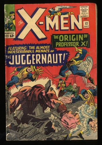 X-Men #12 Inc 0.3 Marvel Comics 1st Juggernaut!