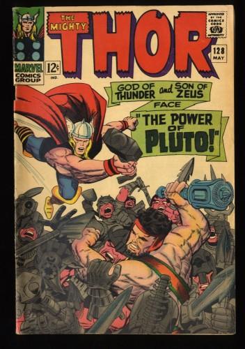 Thor #128 VG+ 4.5 Marvel Comics