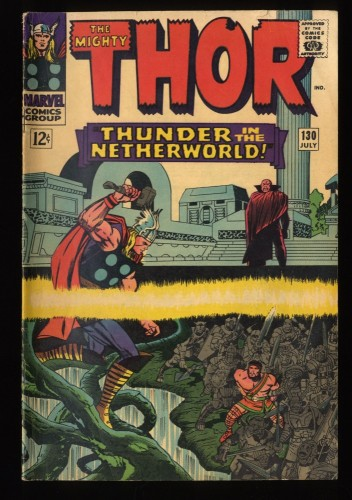 Thor #130 VG 4.0 Marvel Comics