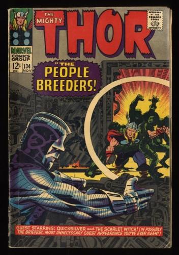 Thor #134 VG 4.0 Marvel Comics 1st High Evolutionary!