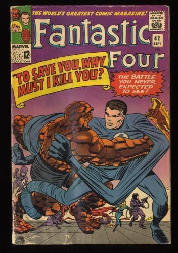 Fantastic Four #42 GD/VG 3.0 Marvel Comics