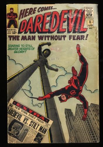 Daredevil #8 GD 2.0 Marvel Comics
