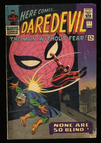 Daredevil #17 GD+ 2.5 Marvel Comics Spider-Man!