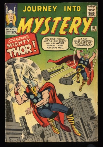 Journey Into Mystery #95 FN 6.0 Marvel Comics Thor