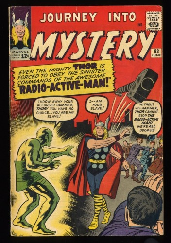 Journey Into Mystery #93 VG/FN 5.0 Marvel Comics Thor