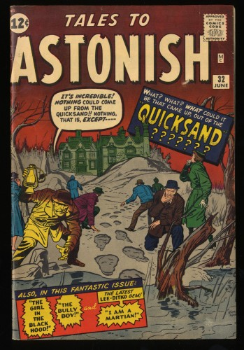 Tales To Astonish #32 FN 6.0 Pre-Hero Marvel!