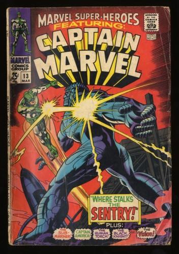 Marvel Super-Heroes #13 GD 2.0 1st Carol Danvers!