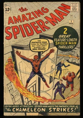 Amazing Spider-Man #1 GD+ 2.5 Marvel Comics Spiderman