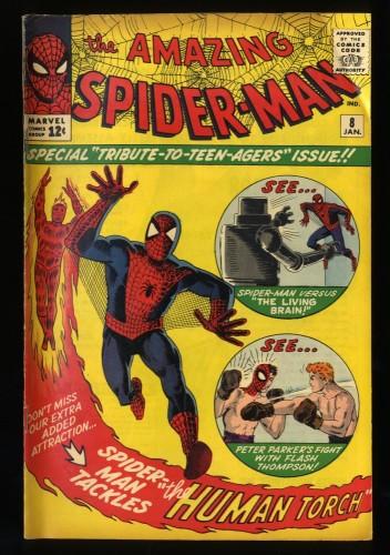Amazing Spider-Man #8 VG 4.0 Marvel Comics Spiderman