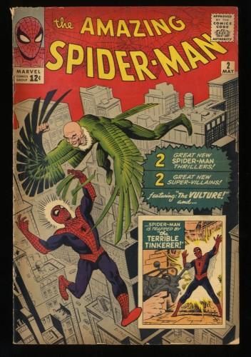 Amazing Spider-Man #2 VG 4.0 1st Vulture! Stunning Copy!