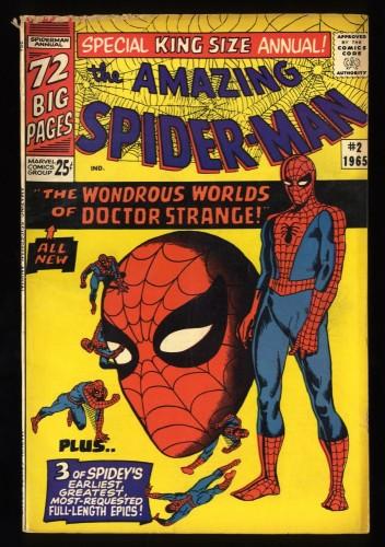 Amazing Spider-Man Annual #2 VG- 3.5