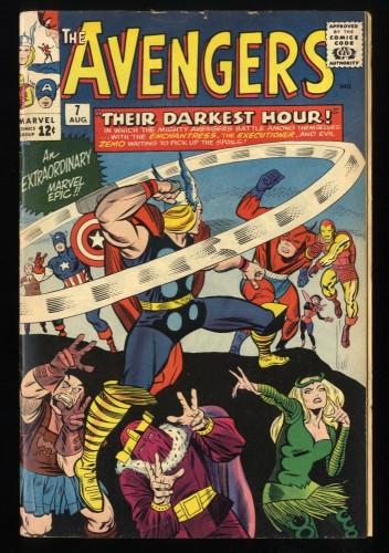 Avengers #7 FN+ 6.5