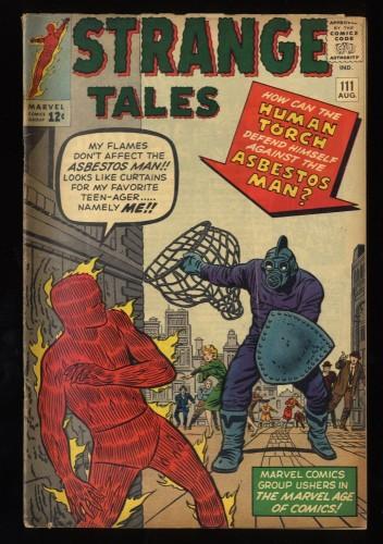 Strange Tales #111 VG 4.0 2nd Doctor Strange!