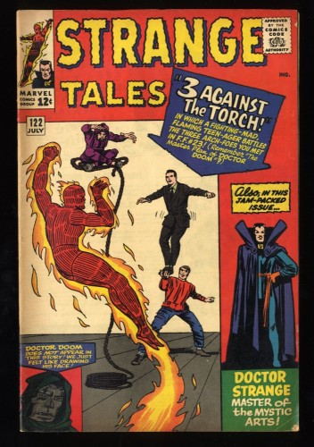 Strange Tales #122 FN- 5.5 Stunning Copy!