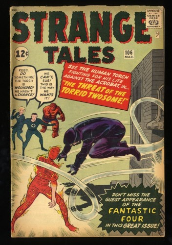 Strange Tales #106 VG+ 4.5