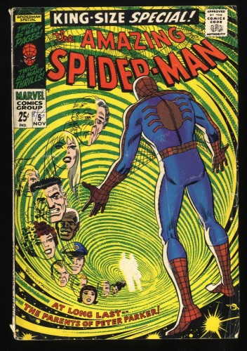 Amazing Spider-Man Annual #5 GD/VG 3.0