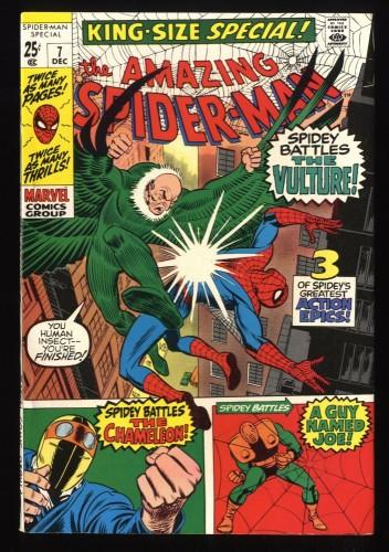 Amazing Spider-Man Annual #7 VF+ 8.5 Vulture!