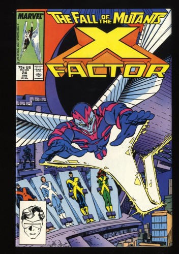 X-Factor (1986) #24 VF/NM 9.0 1st Archangel!