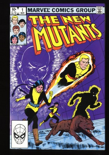 New Mutants #1 VF+ 8.5