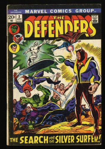Defenders #2 VG- 3.5 Marvel Comics