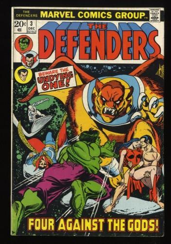 Defenders #3 VG/FN 5.0 Marvel Comics